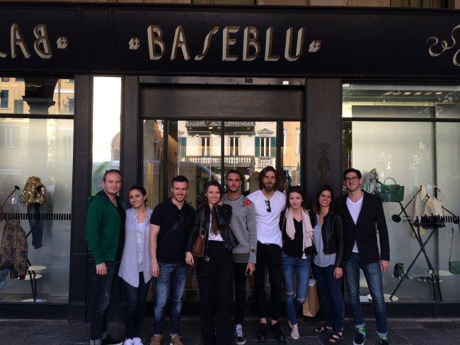 At Base Blu in Varese
