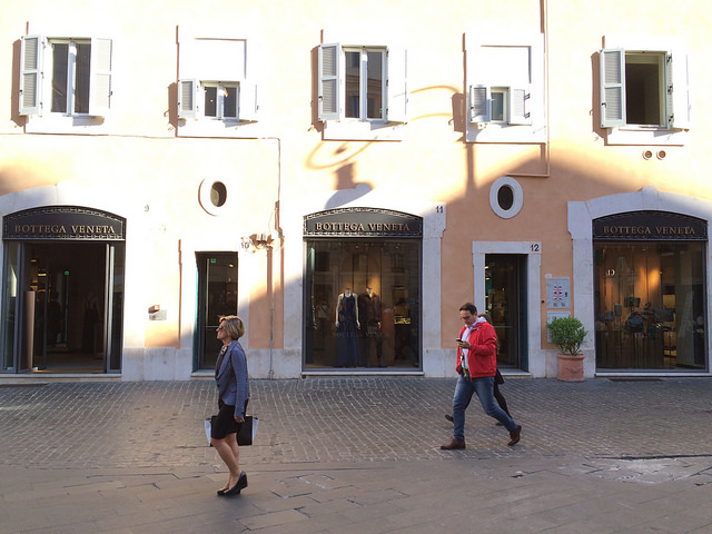 Bottega Veneta Roma, a requisite stop