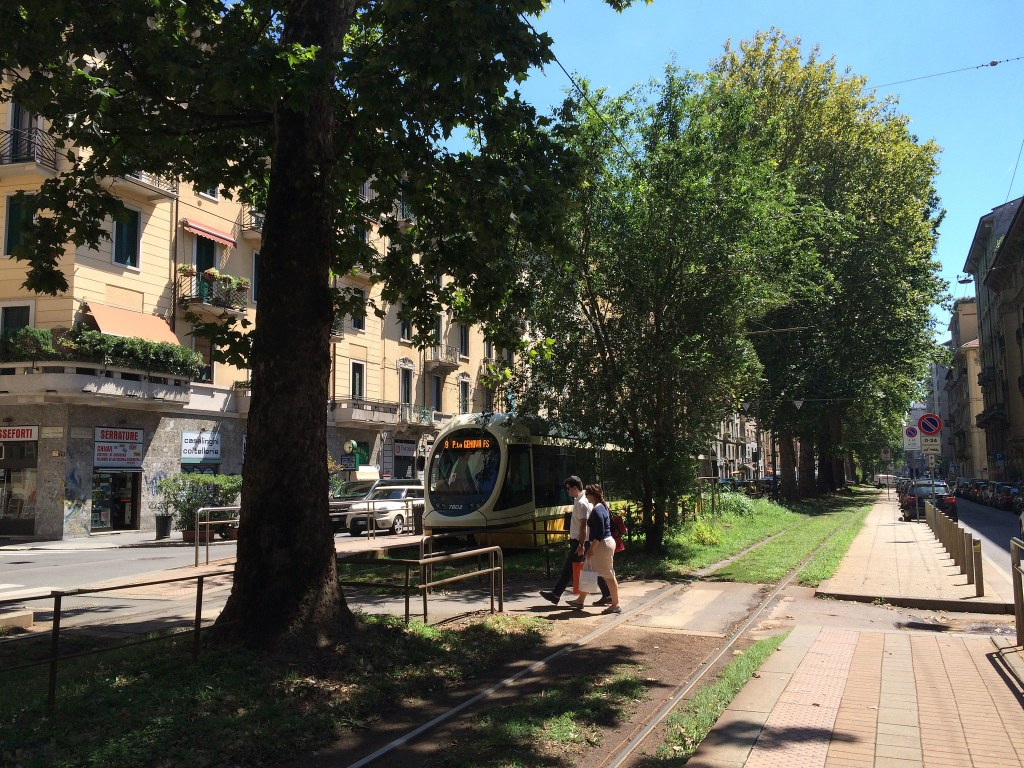Still one of my favorite streets in Milano - Viale Premuda