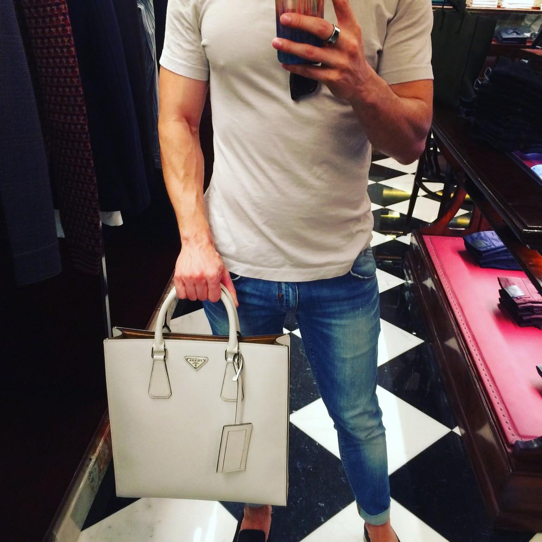 Prada Men's boutique @ Galleria Vittorio Emanuele II