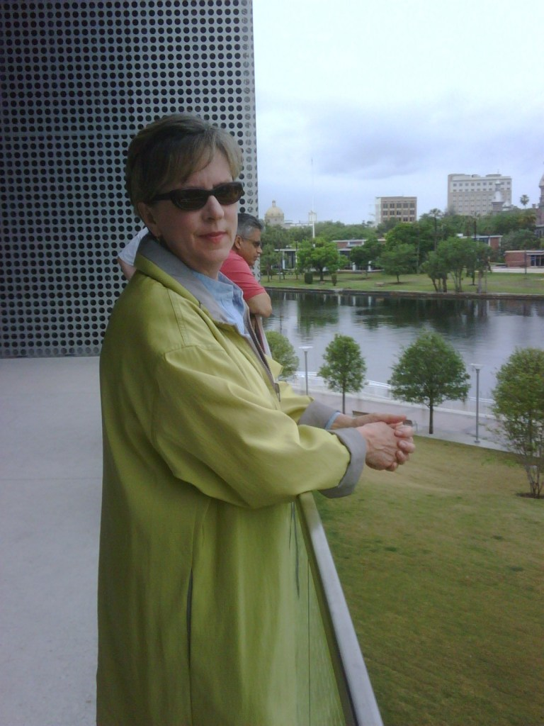 Lime and silver reversible raincoat