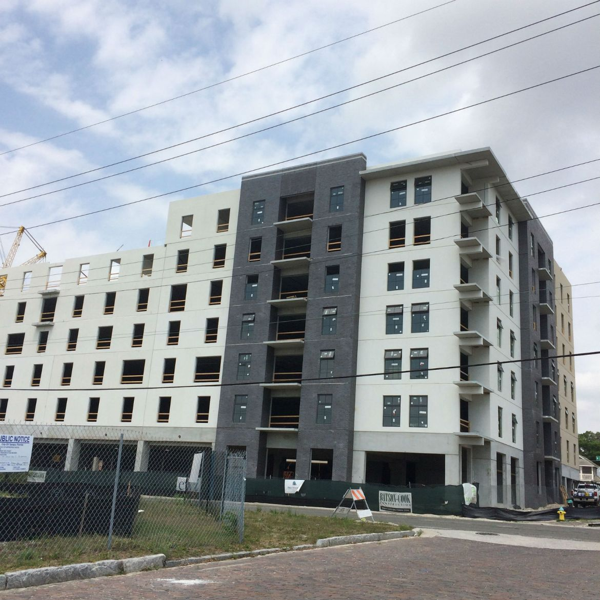 First new construction at The Heights, just north of Downtown Tampa