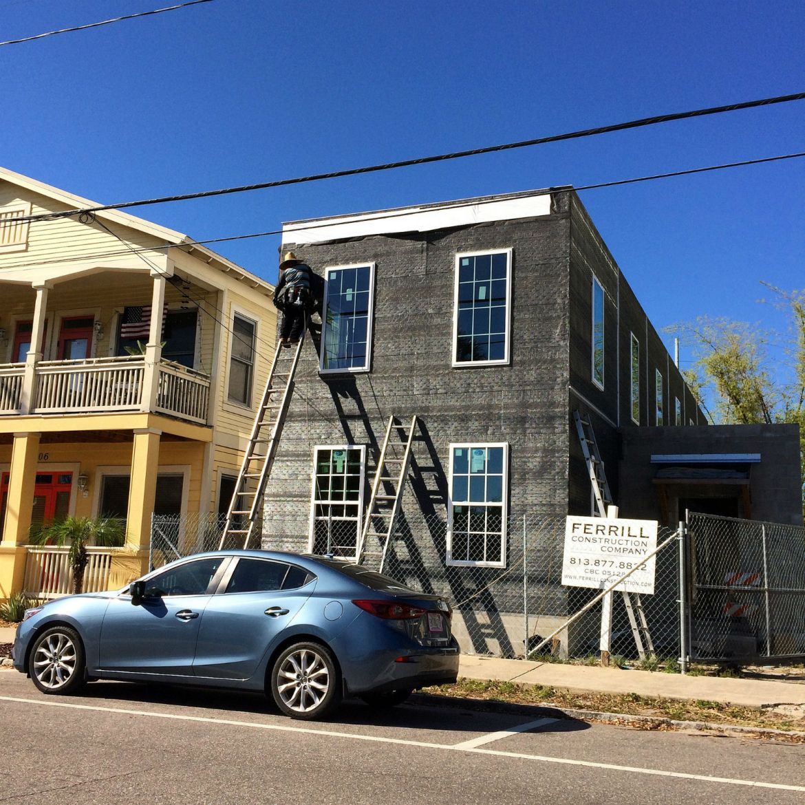 Ferrill Construction infill in Ybor City