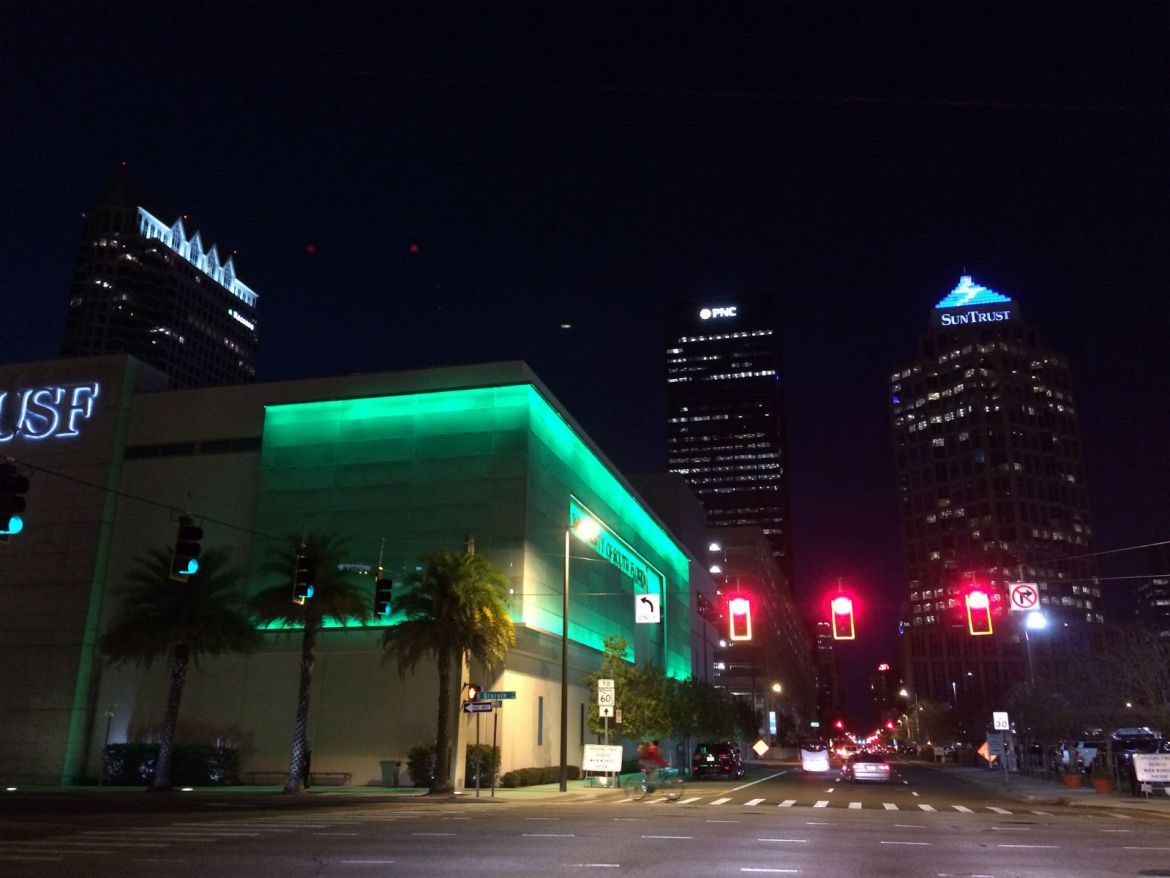 Downtown Tampa's USF CAMLS building