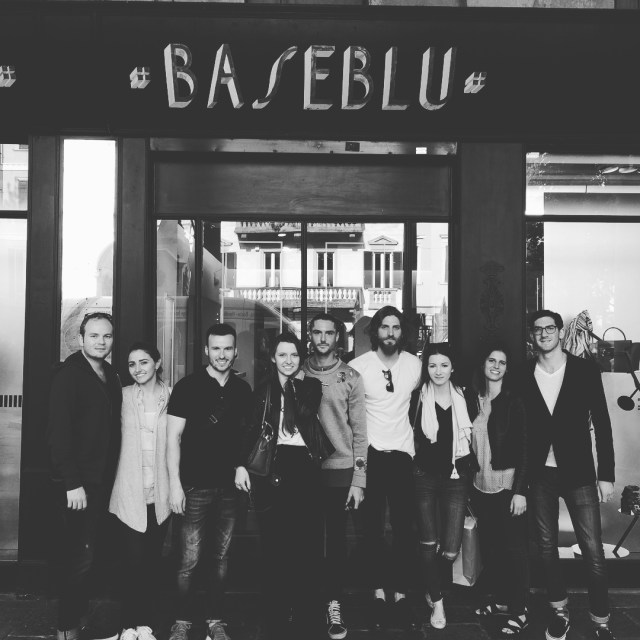 tbt the bocconiluxuryartsclub visit to baseblu in Varese part ofhellip