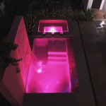 Pool at 2919 West Alline Avenue in magenta