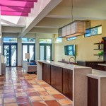 2919 West Alline by ROJO Architecture, kitchen view from entry