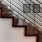 2919 West Alline by ROJO Architecture, stairs detail