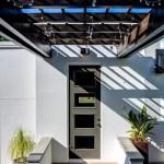 2919 West Alline by ROJO Architecture, walkway to garage