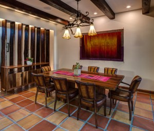 2919 West Alline by ROJO Architecture, dining room