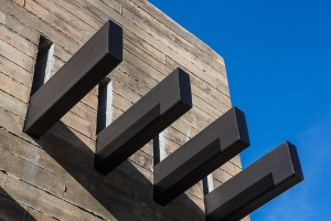 2919 West Alline by ROJO Architecture, façade detail