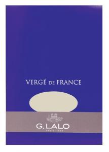 G. Lalo Vergé de France Champagne paper pad