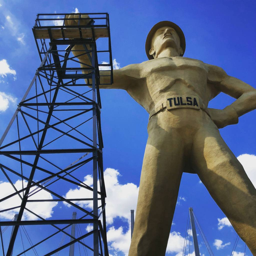 Tulsa Oil Driller Statue