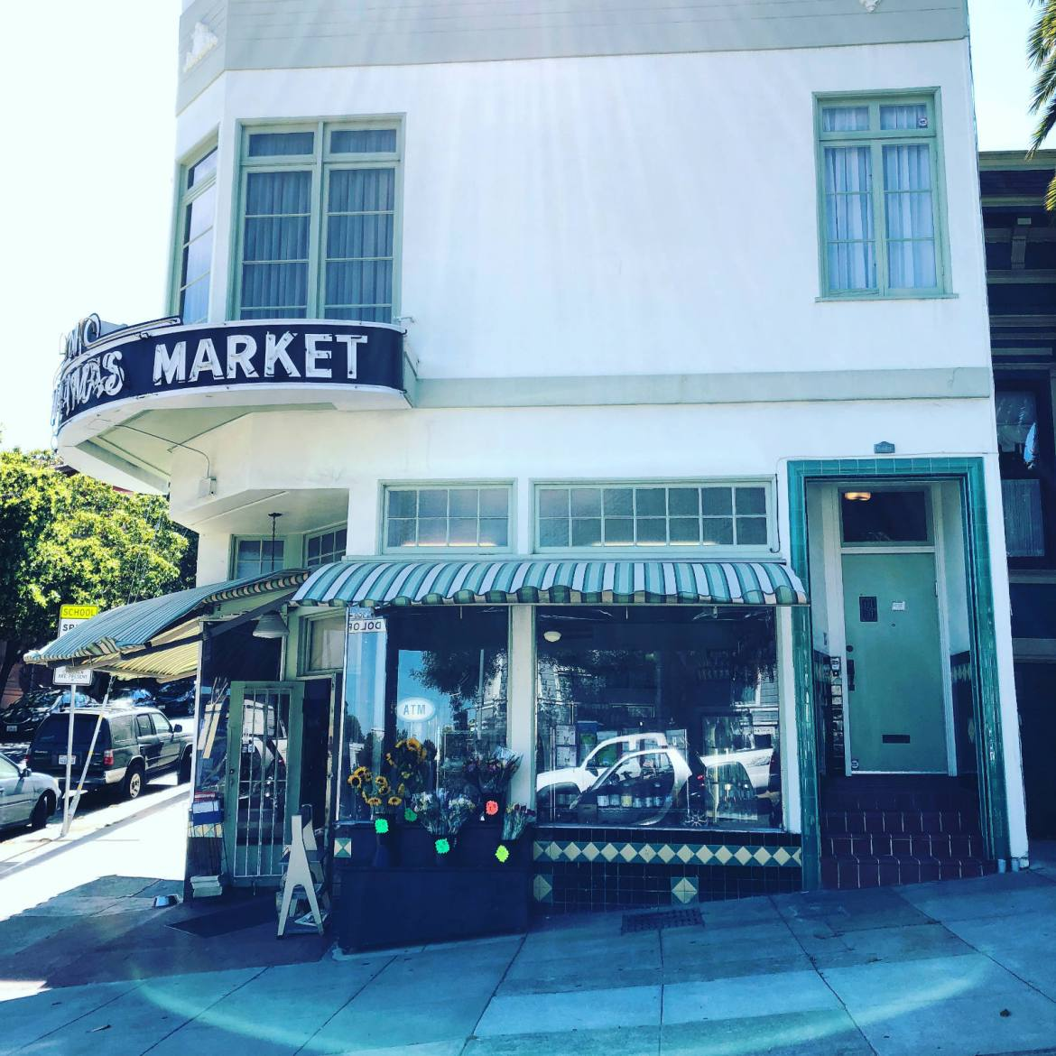 Mama's Market on Dolores Street