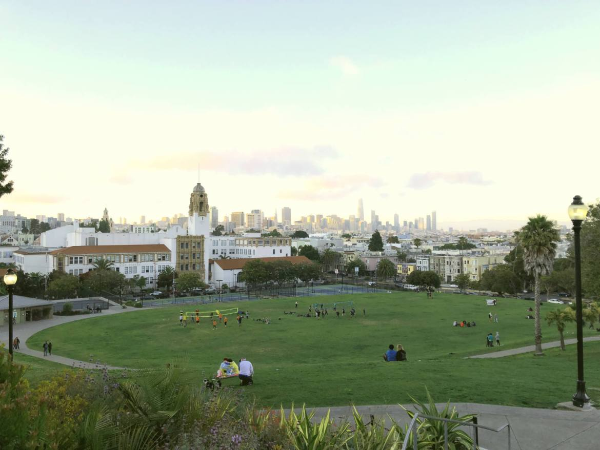 From the top of Dolores Park, a guide to San Francisco