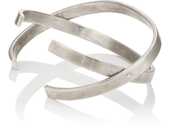 Title of Work Double-Band Hinged Cuff at Barneys