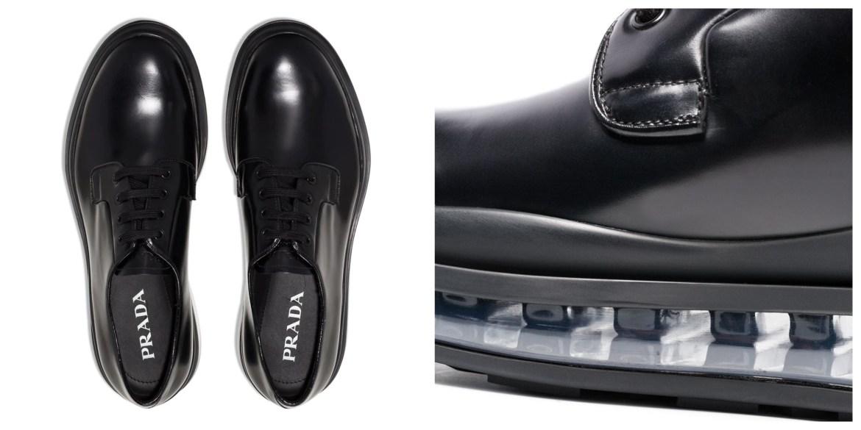 Prada levitate derby shoes