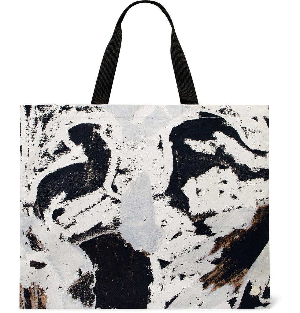 One of the best mens bags of 2019: Folk Alfie Kungu-print cotton twill tote