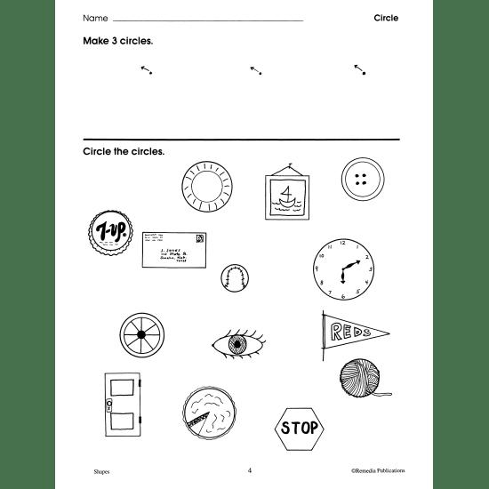 Shapes: Perceptual & Spatial Activities (eBook)