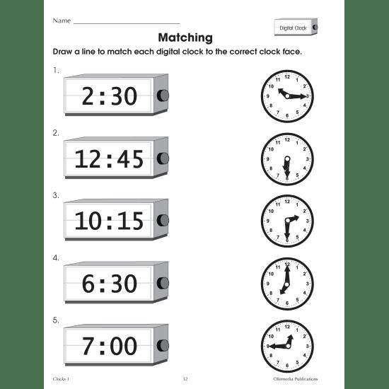 Clocks: Beginning Time Concepts (eBook)