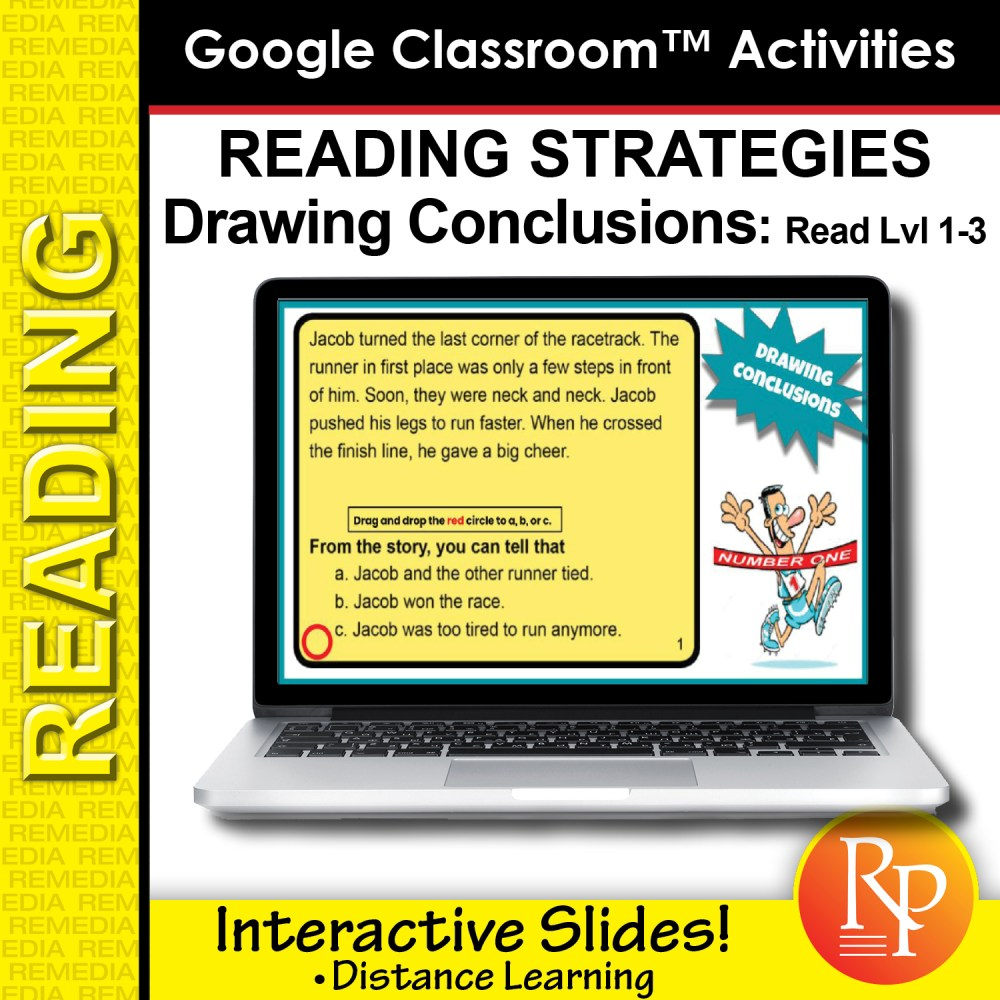 medium resolution of Google Classroom: Drawing Conclusions - Reading Strategies   Distance  Learning