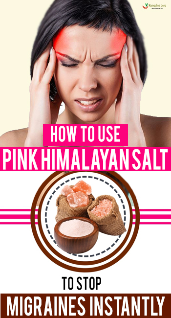 How To Use Pink Himalayan Salt To Stop Migraines Instantly