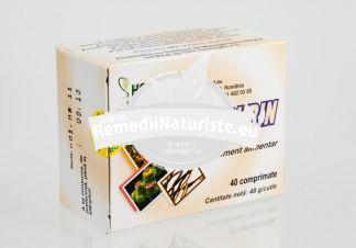 DEPURIN 40cpr HOFIGAL Tratament naturist afectiuni hepatice dispepsii gastrite hipoacide dispepsie