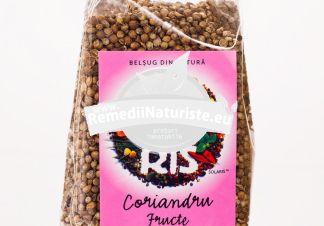 CONDIMENT-CORIANDRU FRUCTE 75 gr SOLARIS Tratament naturist are proprietati digestive carminative bacteriostatice tonice