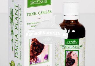 TONIC CAPILAR 50 ml DACIA PLANT Tratament naturist stimulent al circulatiei periferice alopecie seboree despicarea firului de par