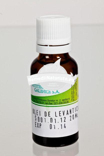ULEI LAVANDA 20ml HOFIGAL Tratament naturist antiinflamator febrifug sedativ antispastic