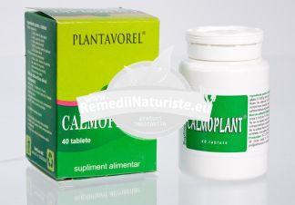 CALMOPLANT 40cps PLANTAVOREL Tratament naturist hiperexcitabilitate nevoasa anxietate stres hiperexcitabilitate