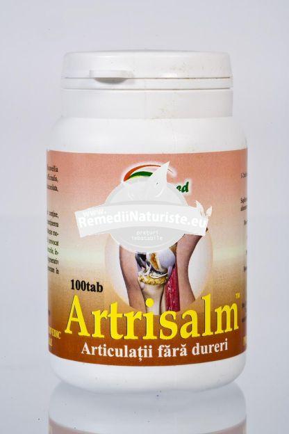 ARTRISALM 100cps STAR INTERNATIONAL Tratament naturist impotriva durerilor vasculare artrita artroza inflamatii articulare