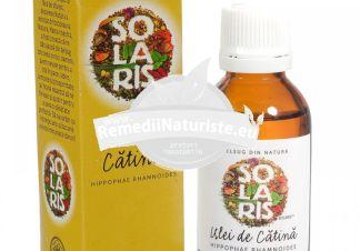 ULEI CATINA 30ml SOLARIS Tratament naturist tonifiant general antianemic vitaminizant previne apaitia cancerului