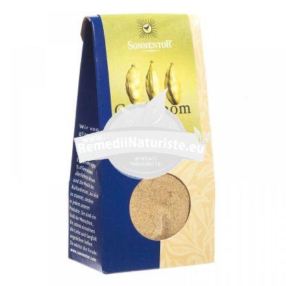 CONDIMENT - CARDAMON MACINAT BIO 35gr SONNENTOR Tratament naturist condiment