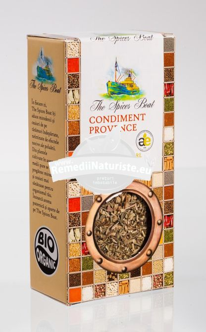 CONDIMENT-CONDIMENTE PROVENCE 35g LONGEVITA Tratament naturist aliment ecologic pentru o dieta sanatoasa condiment