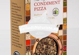 CONDIMENT-PIZZA 35g LONGEVITA Tratament naturist aliment ecologic pentru o dieta sanatoasa condiment