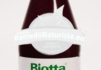 SUC ROSII BIO 500 ml BIOTTA BIOSENS Tratament naturist contine vitamina c metabolism recomandat diabeticilor
