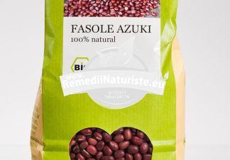FASOLE ASUKI 500g LONGEVITA Tratament naturist aliment ecologic pentru o dieta sanatoasa contine vitamine si minerale
