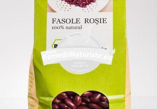 FASOLE ROSIE 500g LONGEVITA Tratament naturist aliment ecologic pentru o dieta sanatoasa contine vitamine si minerale