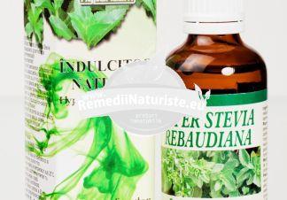 HYPER STEVIA REPAUDIANA INDULCITOR LICHID NATURAL 50ml HYPERICUM Tratament naturist indulcitor lichid natural diabet glicemie crescuta