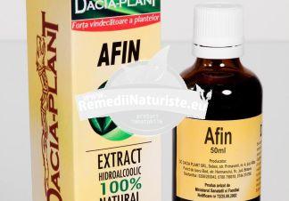 TINCTURA AFIN 50ml DACIA PLANT Tratament naturist diaree diabet enterocolite infectii urinare