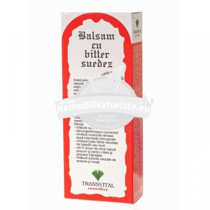 BALSAM PLANTE BITTER 125ml QUANTUM PHARM Tratament naturist afectiuni reumatice dureri reumatice hemoroizi cicatrici