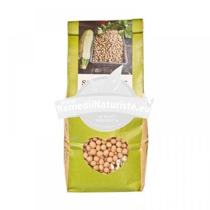 SOIA BOABE 500g LONGEVITA Tratament naturist aliment ecologic pentru o dieta sanatoasa febra dureri de cap hiperactivitate