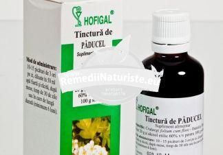 TINCTURA PADUCEL 50ml HOFIGAL Tratament naturist hipertensiune arteriala insomnii insomnie