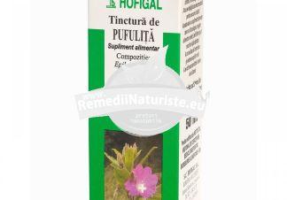 TINCTURA PUFULITA 50ml HOFIGAL Tratament naturist prostatita hepatita gripe raceli