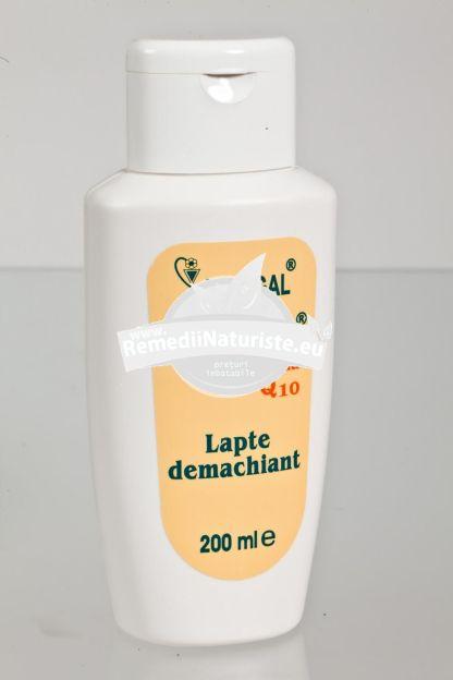 LAPTE DEMACHIANT 200ml HOFIGAL Tratament naturist indeparteaza impuritatile si machiajul