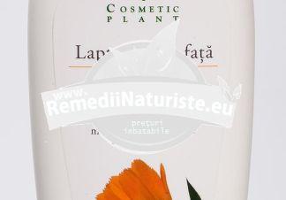 LAPTE DEMACHIANT GALB.+PANTENOL 250ml COSMETIC PLANT Tratament naturist indeparteaza impuritatile si machiajul