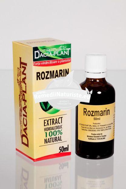TINCTURA ROZMARIN 50ml DACIA PLANT Tratament naturist boli de stomac anemie indigestie atonie digestiva