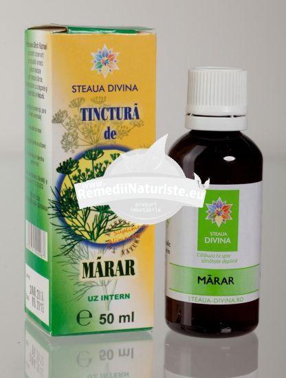 TINCTURA MARAR 50ml SANTO RAPHAEL Tratament naturist anorexie indigestie balonare flatuenta