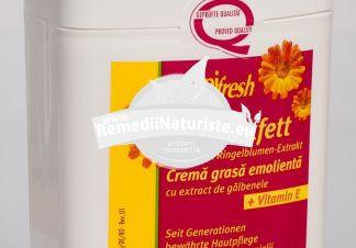MELKFETT ALIFIE GALBENELE + VITAMINA E 250ML ALPIFRESH TRANS ROM Tratament naturist hidrateaza catifeleaza ingrijirea pielii obosite, uscate, sensibile piele crapata